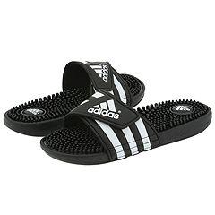 image of adidas adissage (Black/White) Women's Sandals