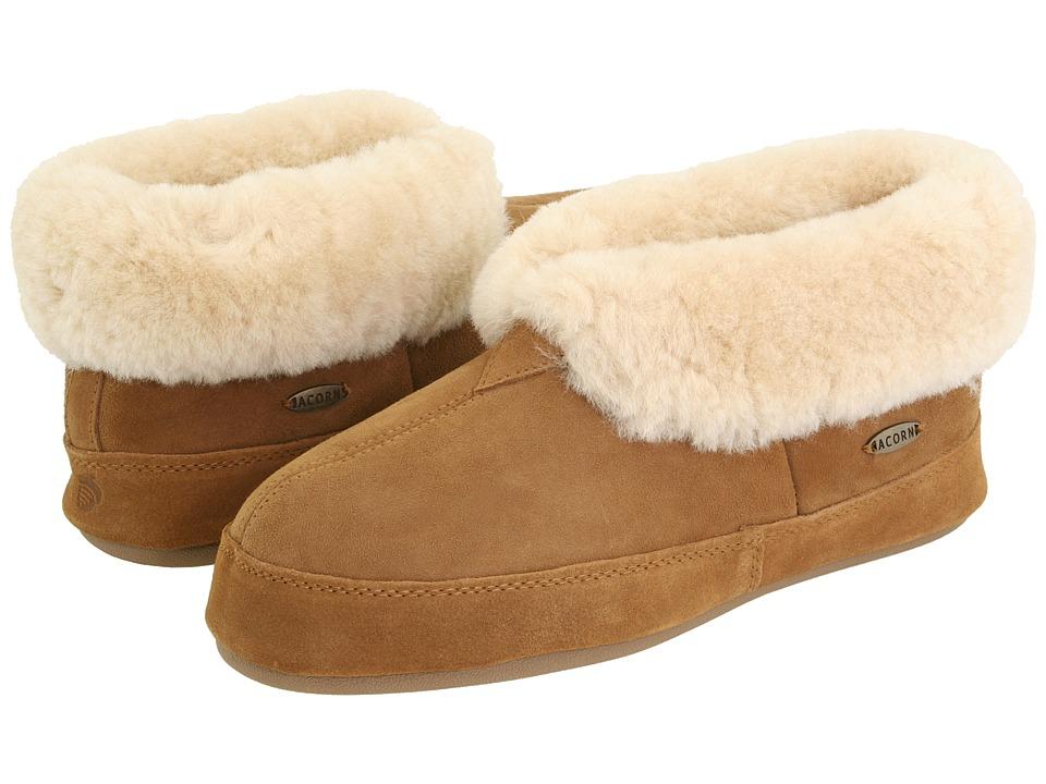 image of Acorn Sheepskin Bootie II (Walnut Sheepskin) Men's Shoes
