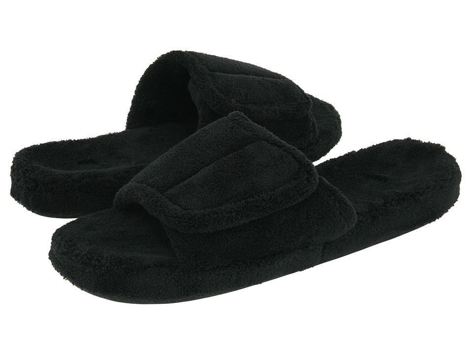 image of Acorn Spa Slide (Black) Men's Slippers