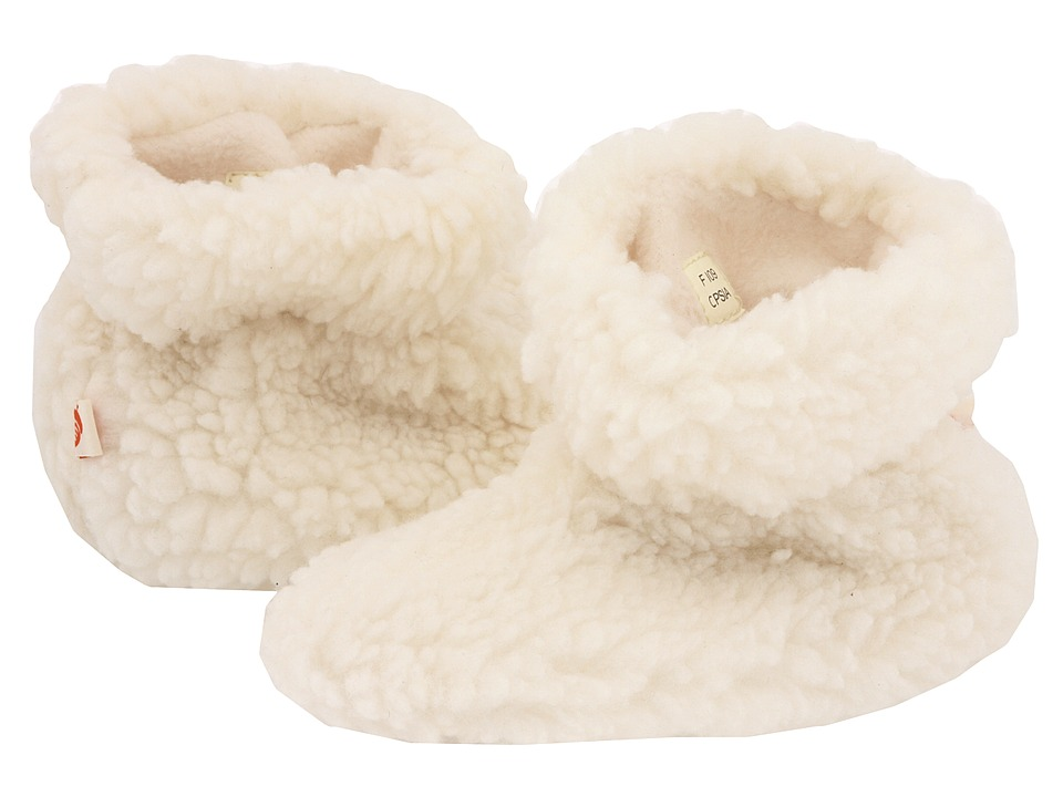 image of Acorn Kids Tex Easy Bootie (Infant/Toddler) (Buff Popcorn) Girls Shoes