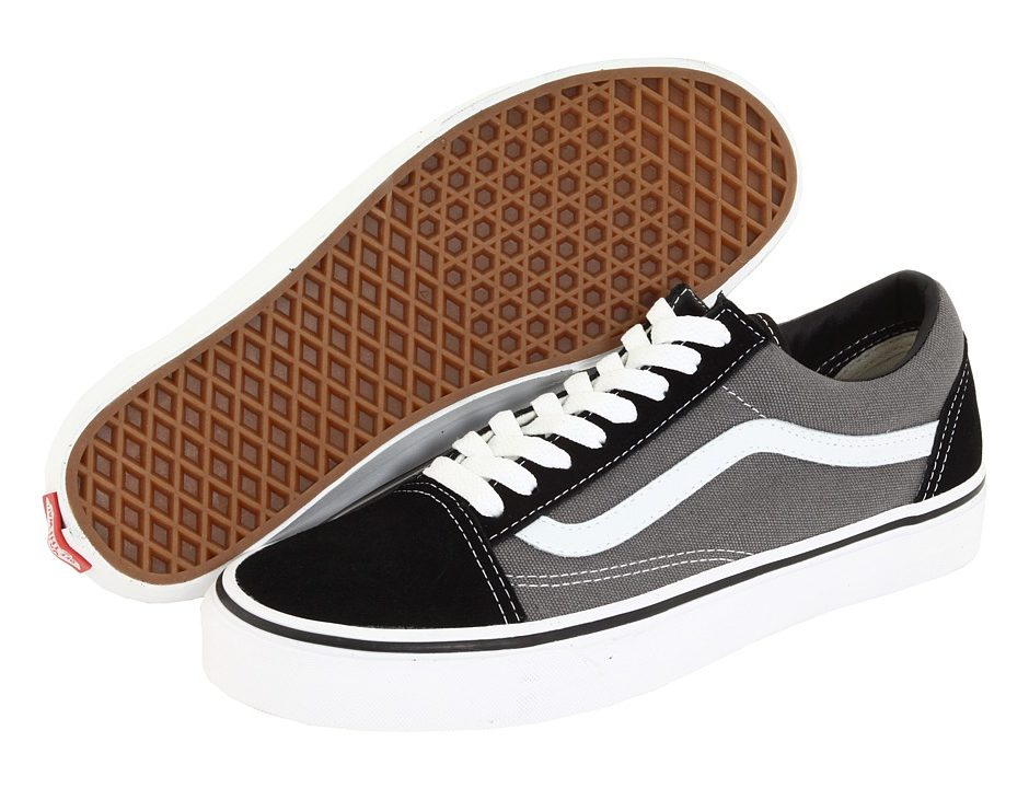 Vans Old Skool Core Classics (Black Pewter) Shoes -  55.00 ca3b9850e192