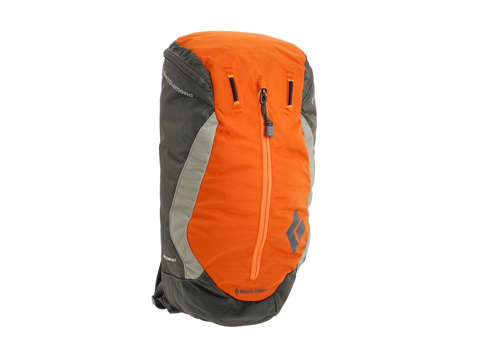 image of Black Diamond Hollowpoint (Burnt Orange) Backpack Bags