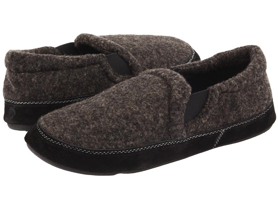image of Acorn Fave Gore (Night Tweed) Men's Slippers