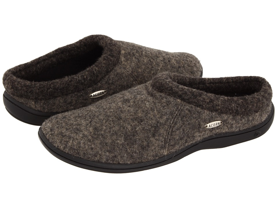 image of Acorn Digby (Greige Heather) Men's Slippers
