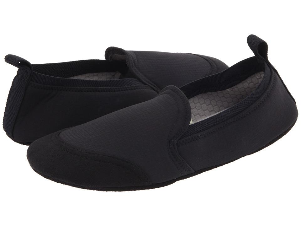 image of Acorn Tech Travel Moc II (Black) Men's Slippers