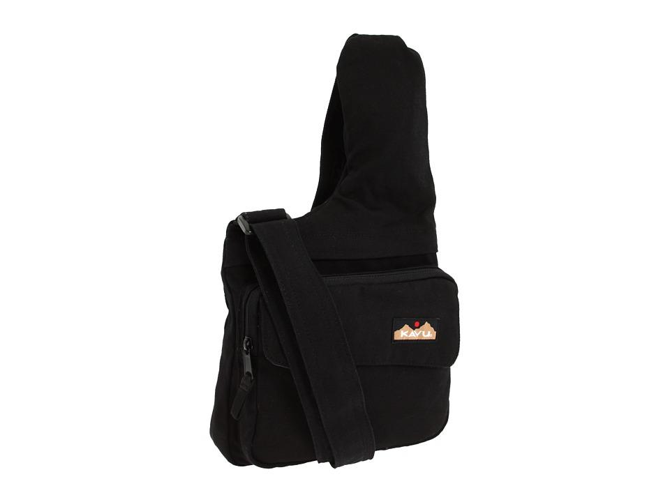 image of KAVU Seattle Sling (Black) Messenger Bags