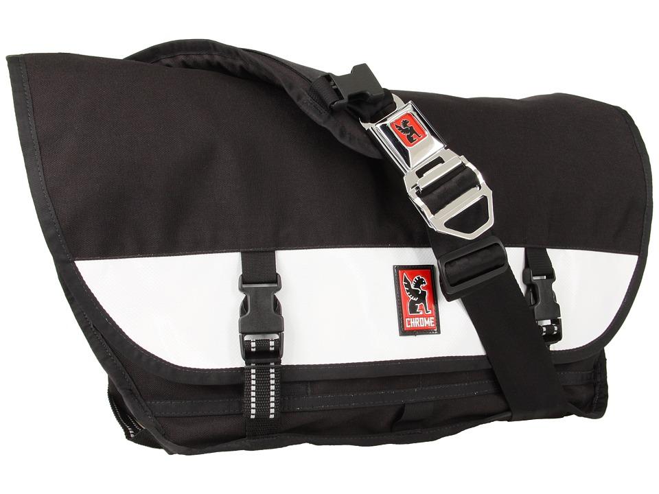 image of Chrome Citizen Messenger (Black/White) Messenger Bags