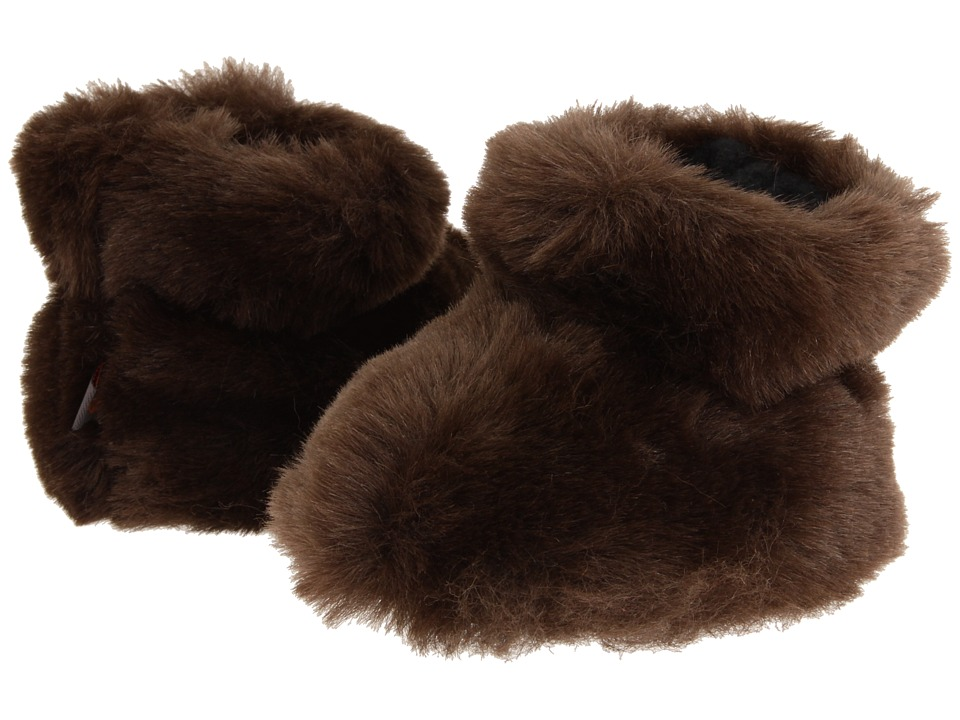 image of Acorn Kids Tex Easy Bootie (Infant/Toddler) (Brown Bear) Girls Shoes