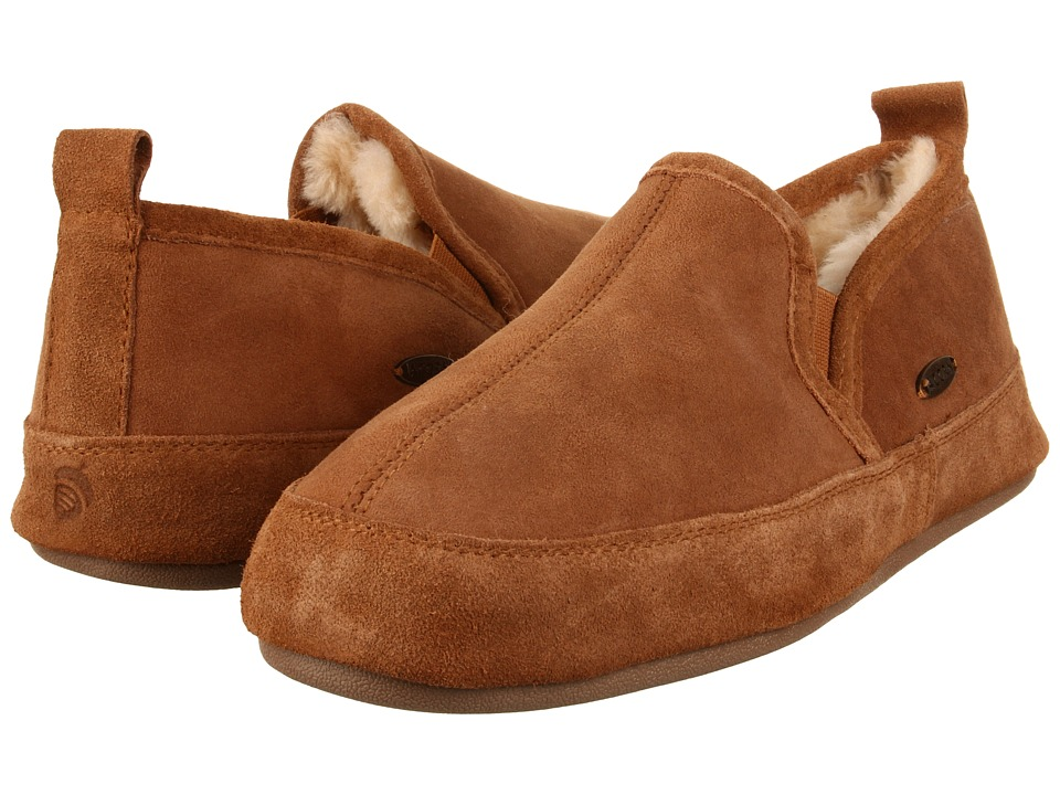 image of Acorn Romeo II (Walnut Brown Sheepskin) Men's Slippers