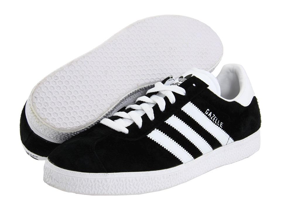 image of adidas Originals Gazelle (Black/White) Classic Shoes
