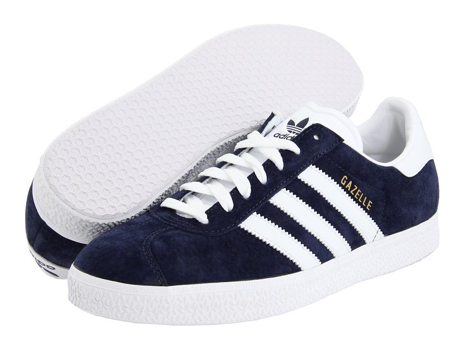 image of adidas Originals Gazelle (Marine/White) Classic Shoes