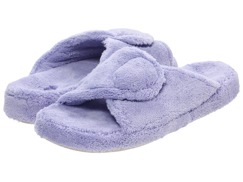 image of Acorn New Spa Slide (Periwinkle) Women's Slippers