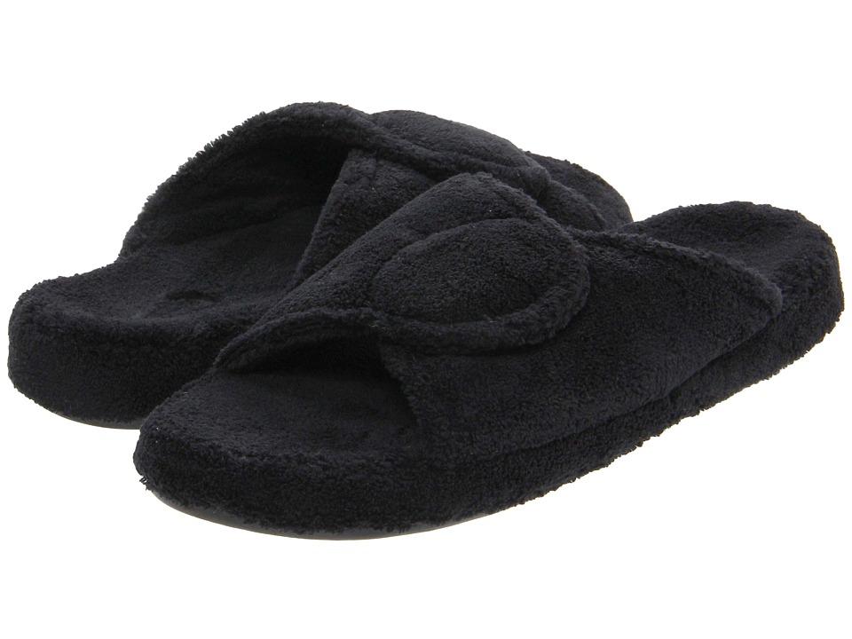 image of Acorn New Spa Slide (Black) Women's Slippers