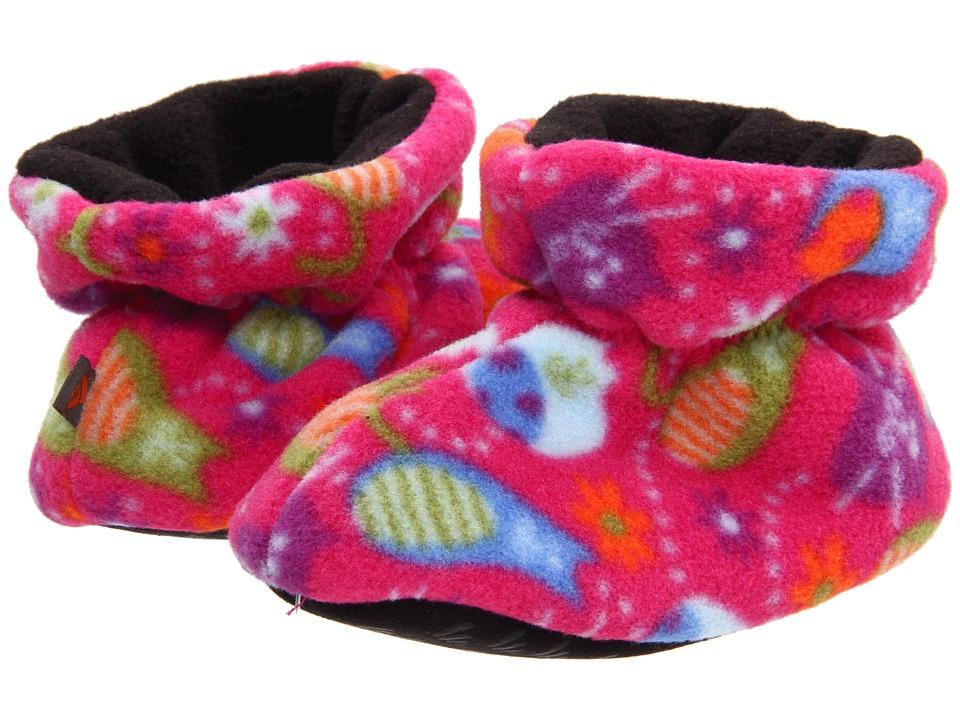 image of Acorn Kids Easy Bootie (Infant/Toddler/Little Kid) (Fat Cat Pink) Kids Shoes