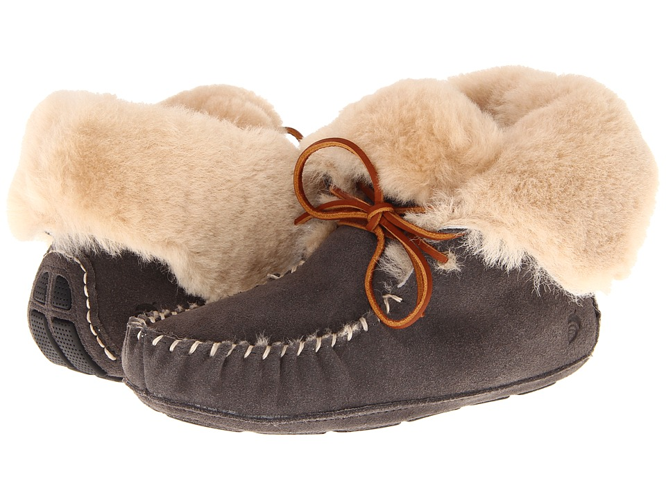 image of Acorn Sheepskin Moxie Boot (Stone) Women's Boots