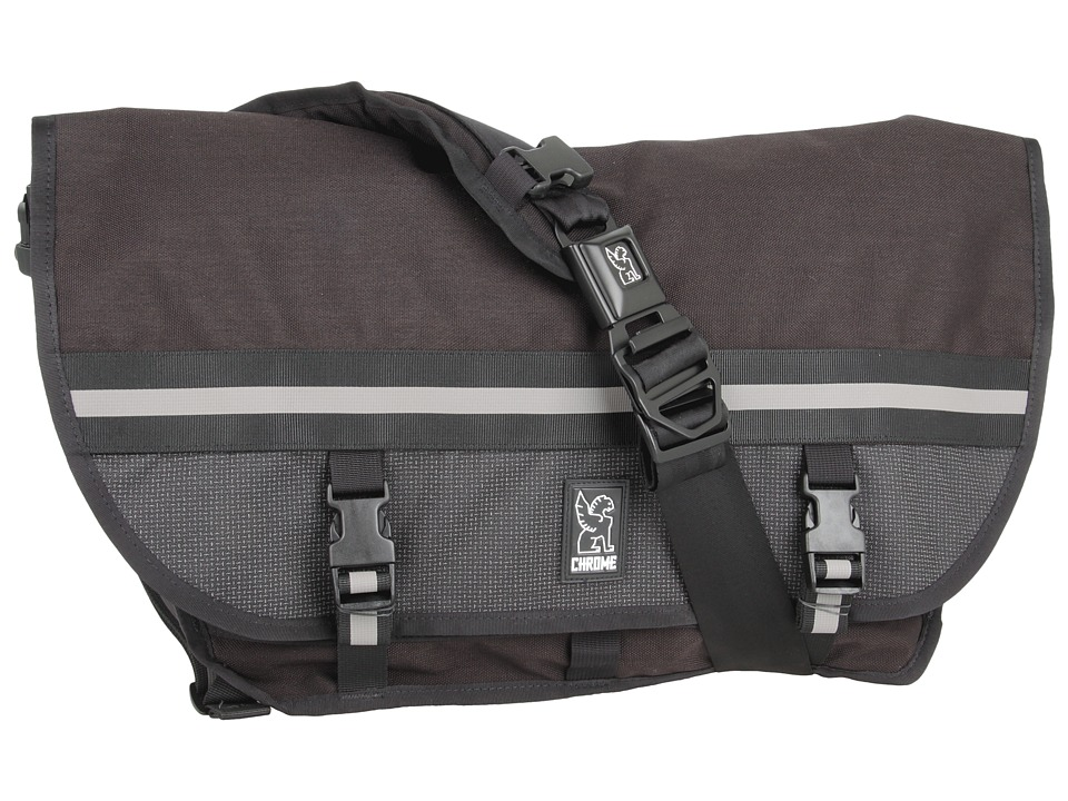 image of Chrome Night Series Citizen Messenger (Black/Reflective - Limited Edition) Messenger Bags