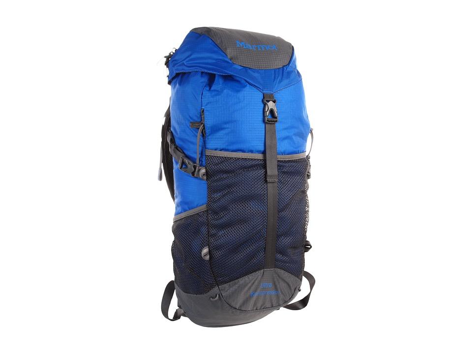 image of Marmot Ultra Kompressor (Cobalt Blue) Day Pack Bags
