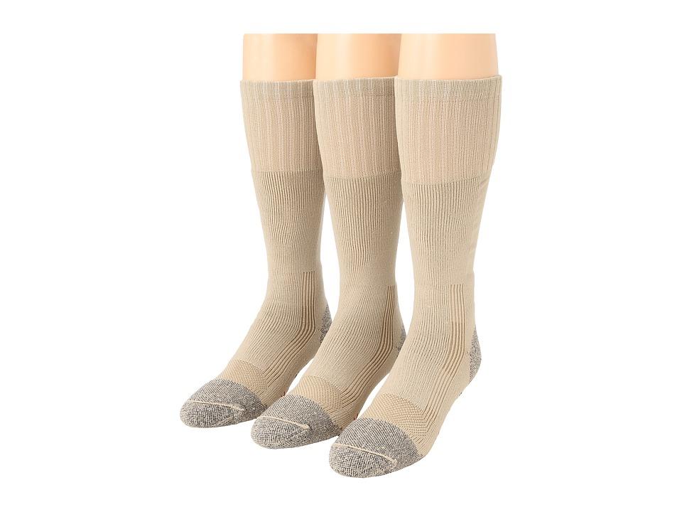 image of Fox River Wick Dry Maximum Boot Sock 3-Pair Pack (Sand) Crew Cut Socks Shoes