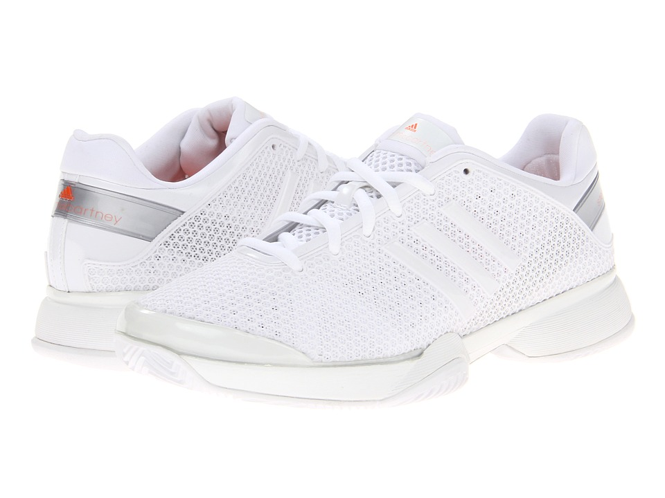 image of adidas adidas by Stella McCartney Barricade W (Running White/Metallic Silver/Ultra Bright) Women's Shoes