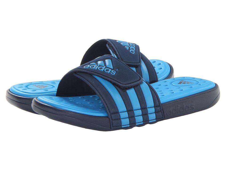 image of adidas adissage SC (Collegiate Navy/Solar Blue/Solar Metallic) Men's Slide Shoes