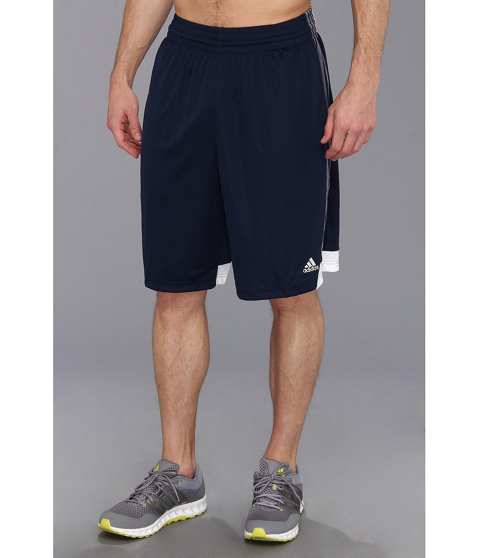image of adidas 3G Speed Short (Collegiate Navy/Lead/White) Men's Shorts