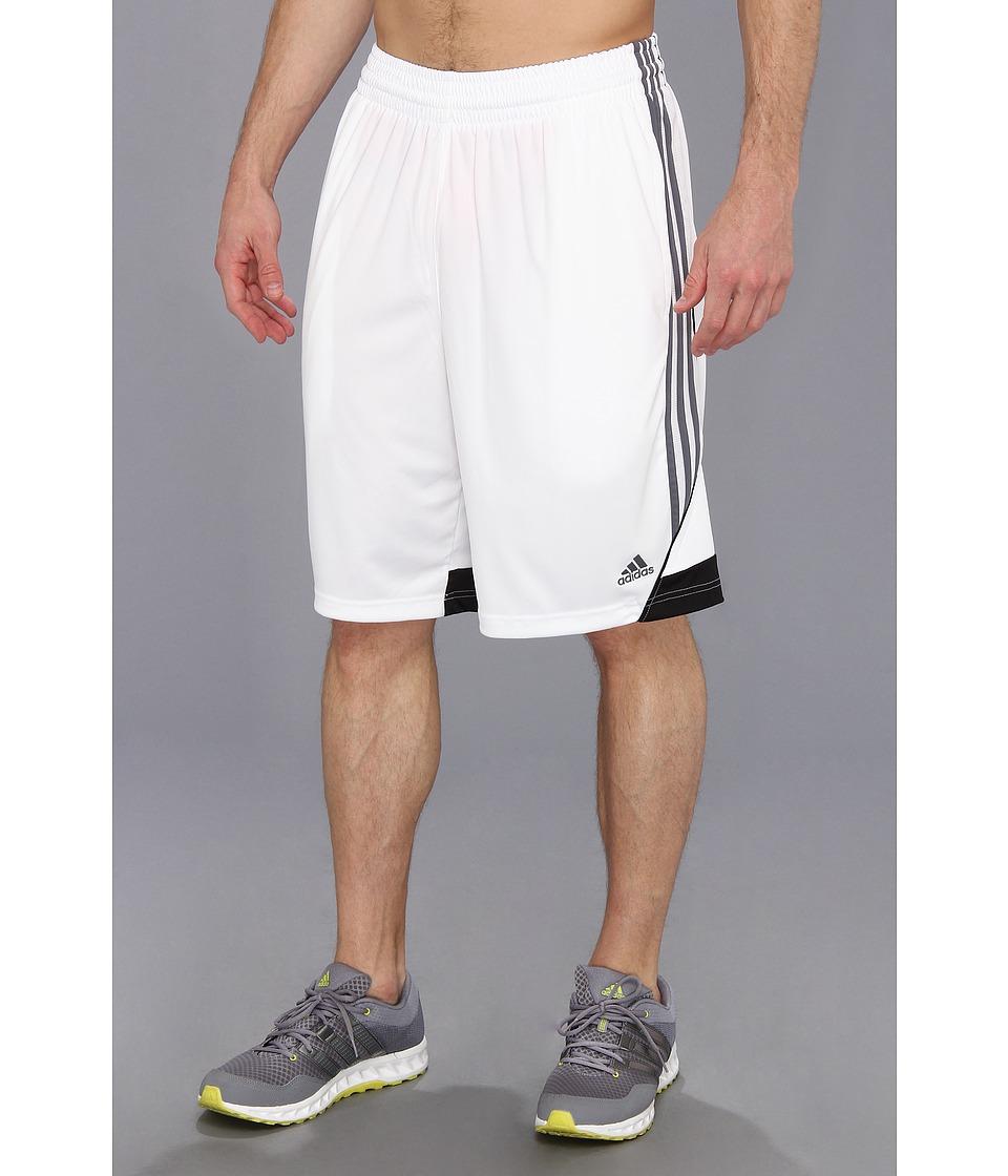 image of adidas 3G Speed Short (White/Lead/Black) Men's Shorts