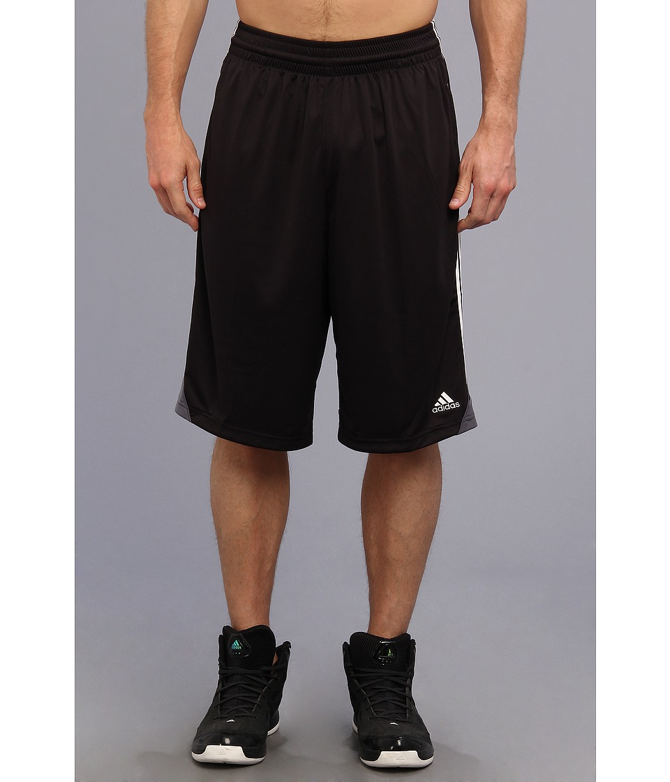 image of adidas 3G Speed Short (Black/White/Lead) Men's Shorts