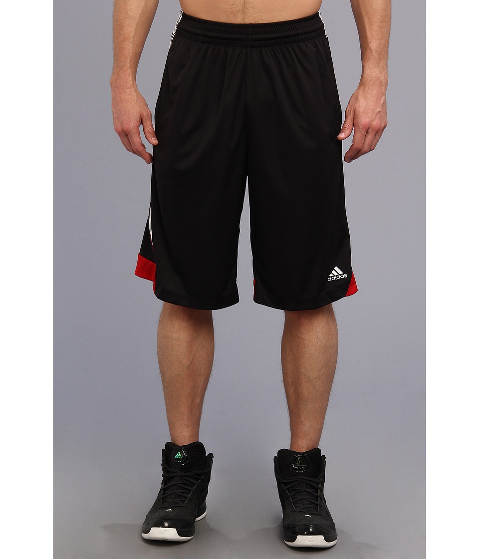 image of adidas 3G Speed Short (Black/White/University Red) Men's Shorts