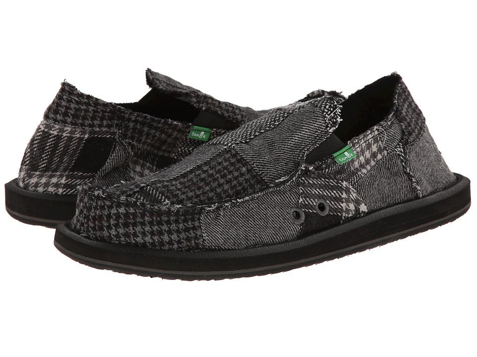 sanuk vagabond ragabond black s shoes 65 00