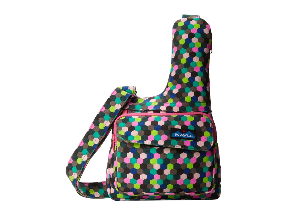 image of KAVU Seattle Sling (Forest Hive) Messenger Bags