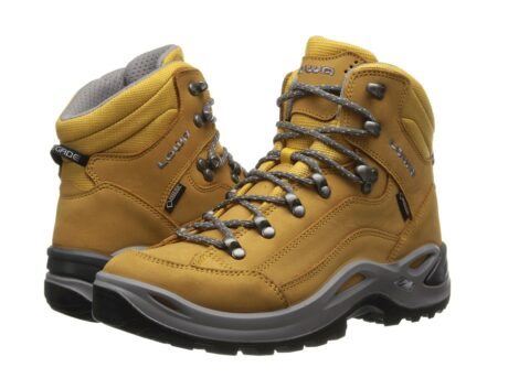 size 7 watch high quality Lowa Renegade GTX Mid WS Fos (Honey) Women's Hiking Boots ...