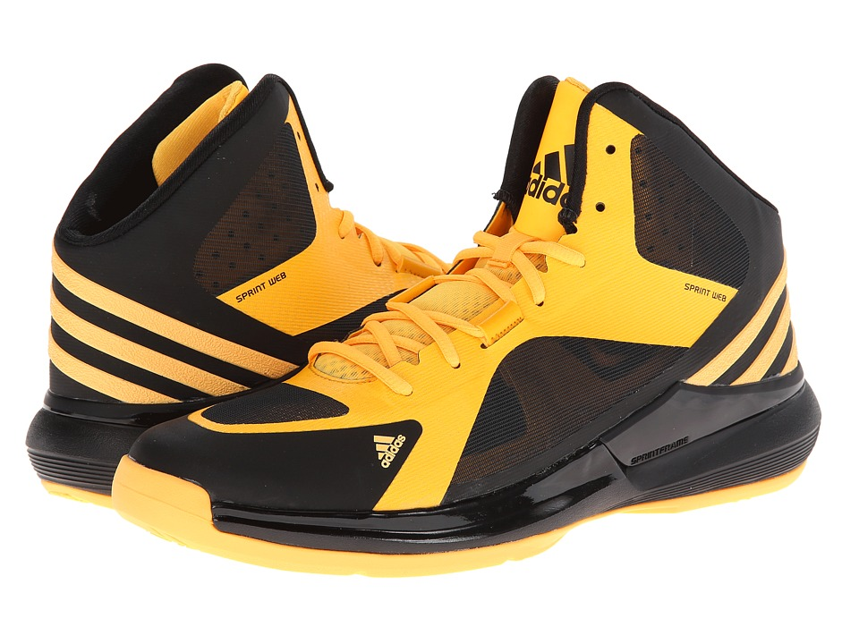 adidas Crazy Strike (Black/Solar Gold) Men's Basketball Shoes ...