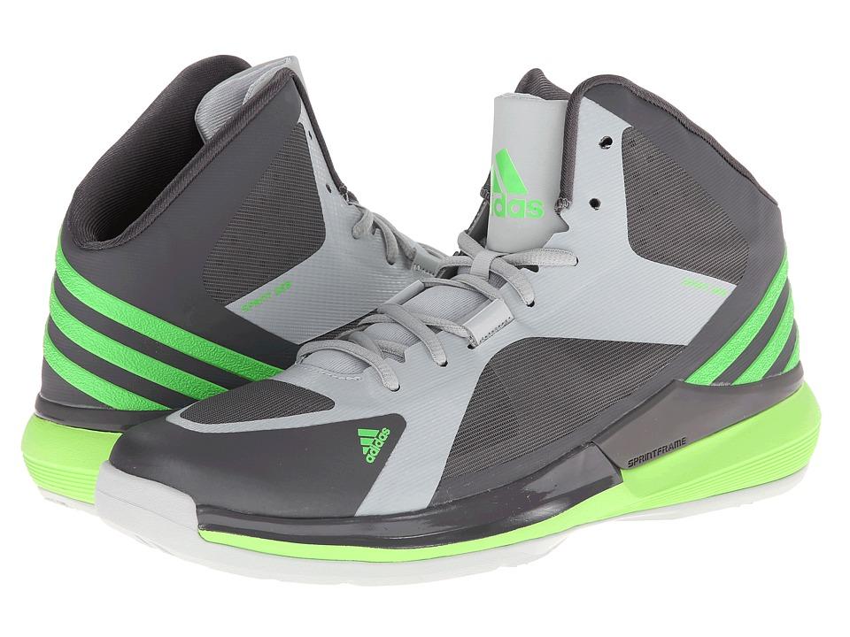 adidas Crazy Strike (Granite/Solar Green/Clear Grey) Men's ...