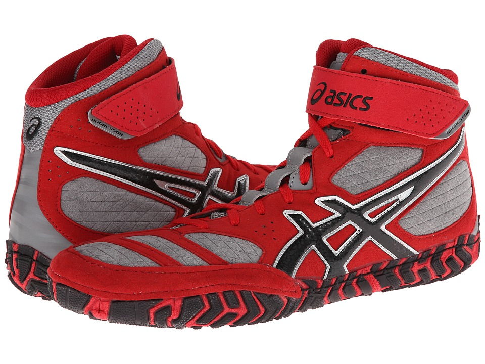 Red Aggressor Wrestling Shoes
