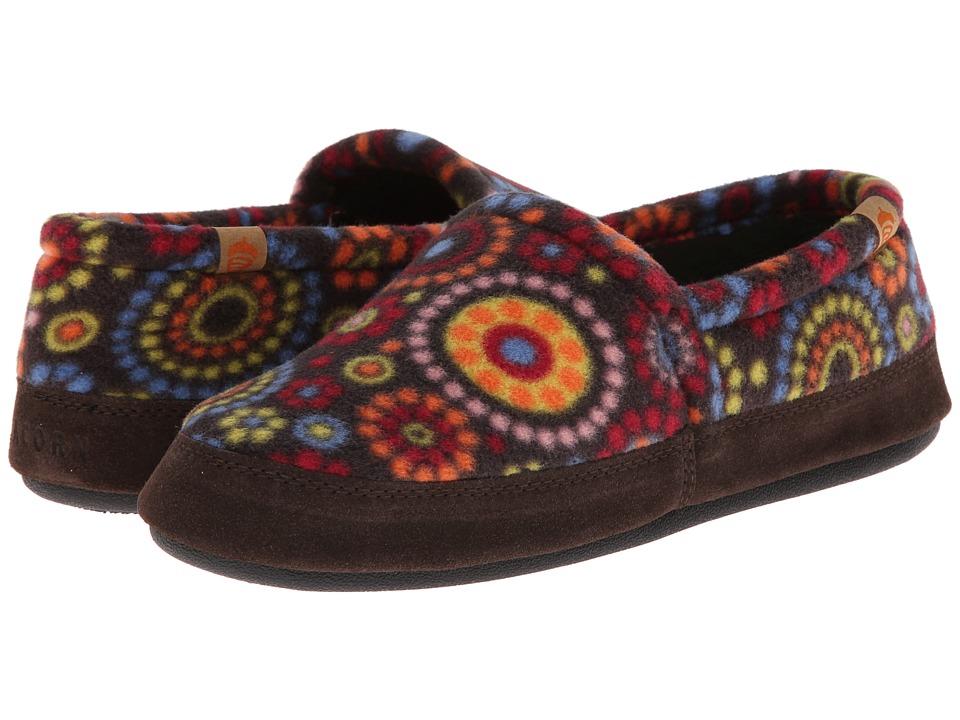 image of Acorn Acorn Moc (Chocolate Dots) Women's Moccasin Shoes