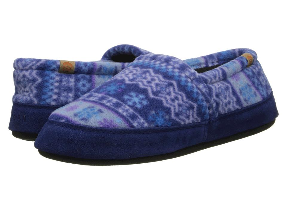 image of Acorn Acorn Moc (Icelandic Blue) Women's Moccasin Shoes