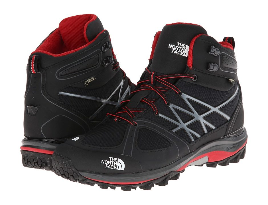 0a810ac7d26 The North Face Ultra Extreme (TNF Black/TNF Red) Men's Hiking Boots