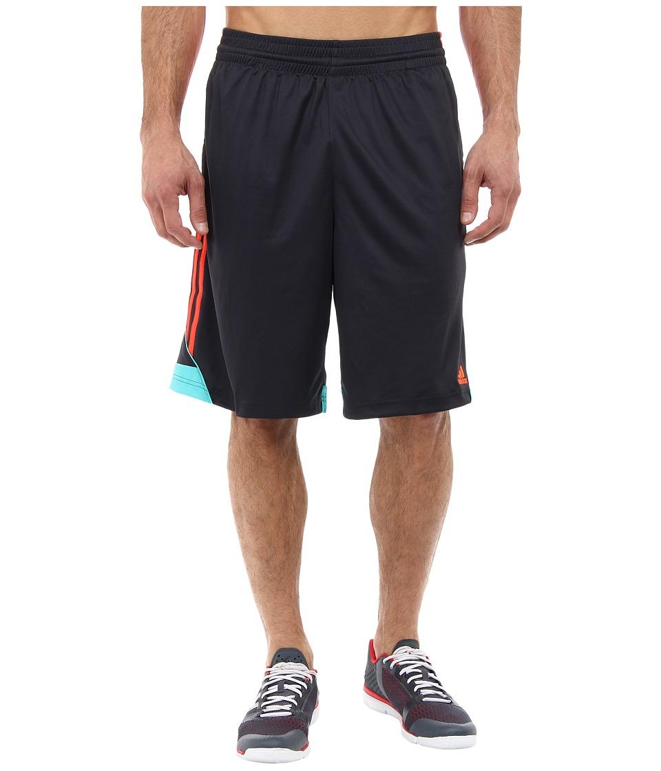 image of adidas 3G Speed Short (Night Grey/Solar Red/Vivid Mint) Men's Shorts