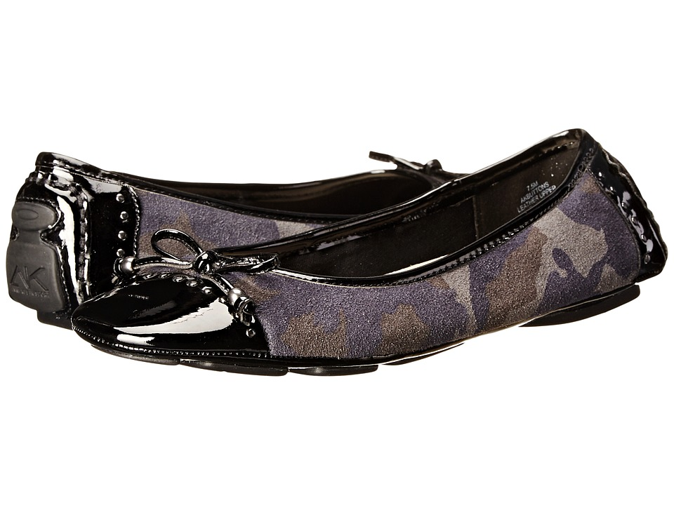 image of Anne Klein Buttons (Navy Multi Black) Women's Flat Shoes