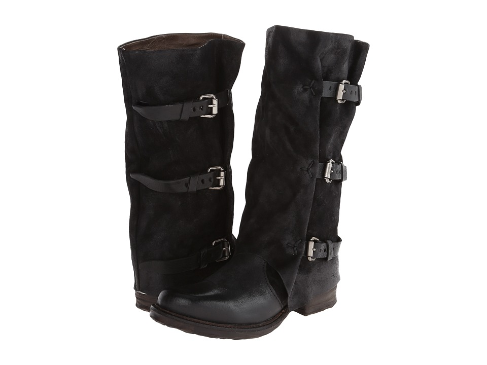image of A.S. 98 Sema (Black) Women's Zip Boots