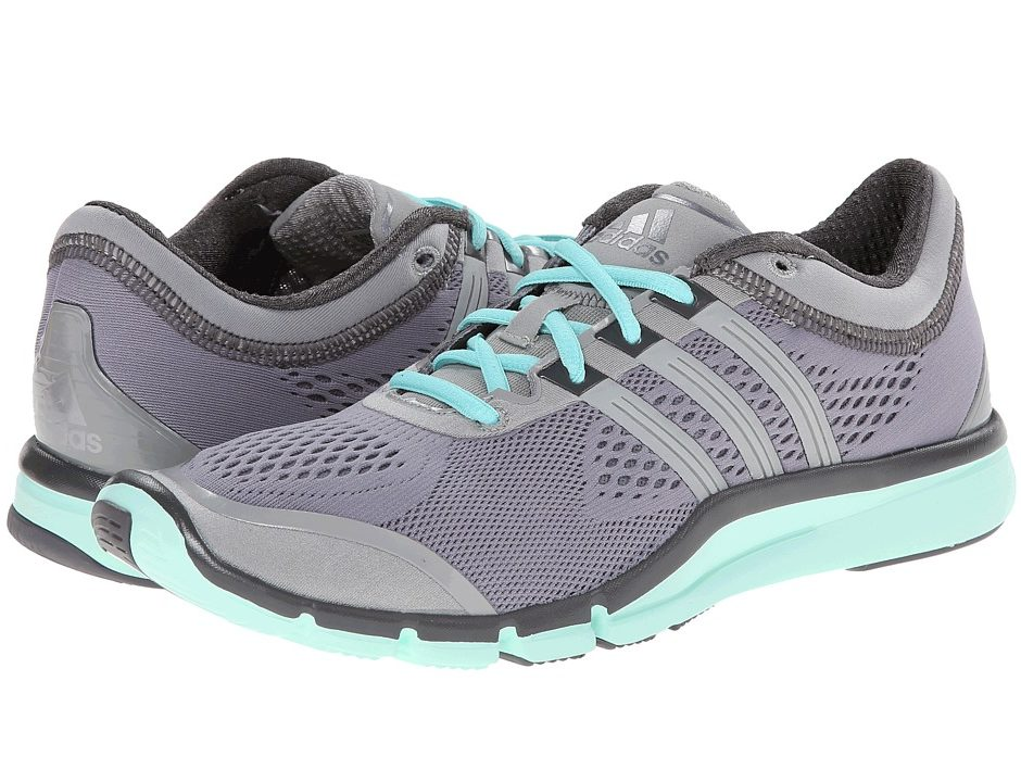 adidas Adipure 360.2 (Grey/Solid Grey/Frost Mint) Women's Cross ...