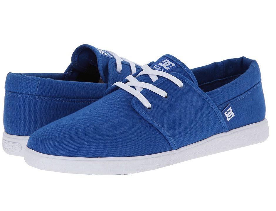 DC Haven (Blue/White) Men's Skate Shoes