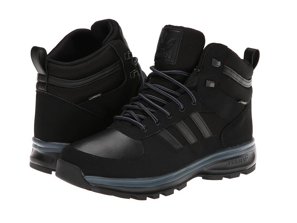 image of adidas Originals Chasker Boot - Gore-Tex (Black/Bold Onix) Men's Waterproof Boots