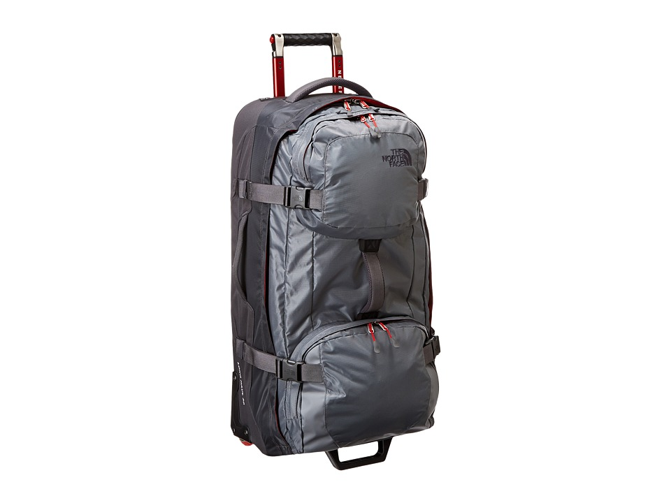 image of The North Face Longhaul 30 (Zinc Grey/TNF Red) Pullman Luggage