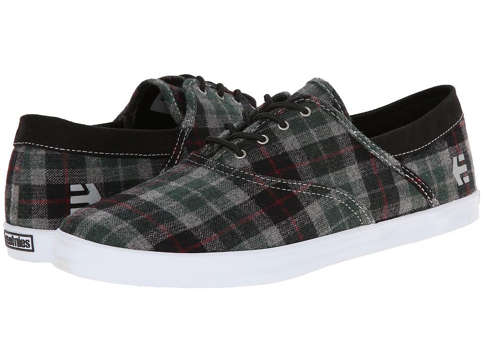 etnies corby black plaid s skate shoes 45 00