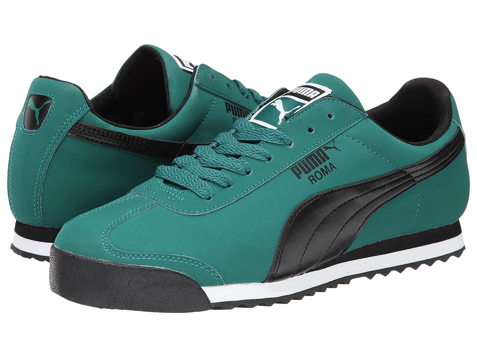 PUMA Roma SL NBK 2 (Alpine/Green/Black) Men's Shoes - $60.00