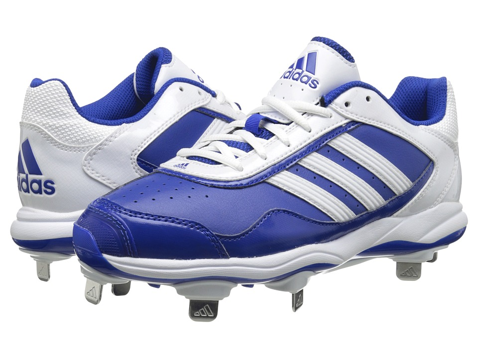 image of adidas Abbott Pro Metal 2.0 (Collegiate Royal/Running White) Women's Cleated Shoes