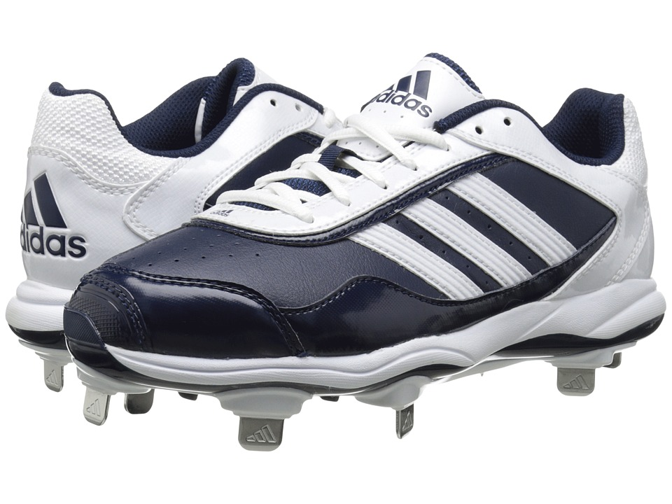 image of adidas Abbott Pro Metal 2.0 (Collegiate Navy/Running White) Women's Cleated Shoes